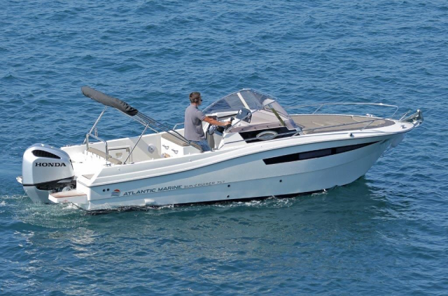 Atlantic 730 Sun Cruiser 2020 - Rent a Boat Angelino Tribunj