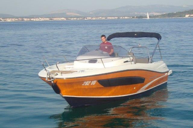 Jeanneau Cap Camarat 7.5 WA 2018 - Rent a Boat Angelino Tribunj